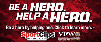 Sport Clips Haircuts of Park Towne Village​ Help a Hero Campaign